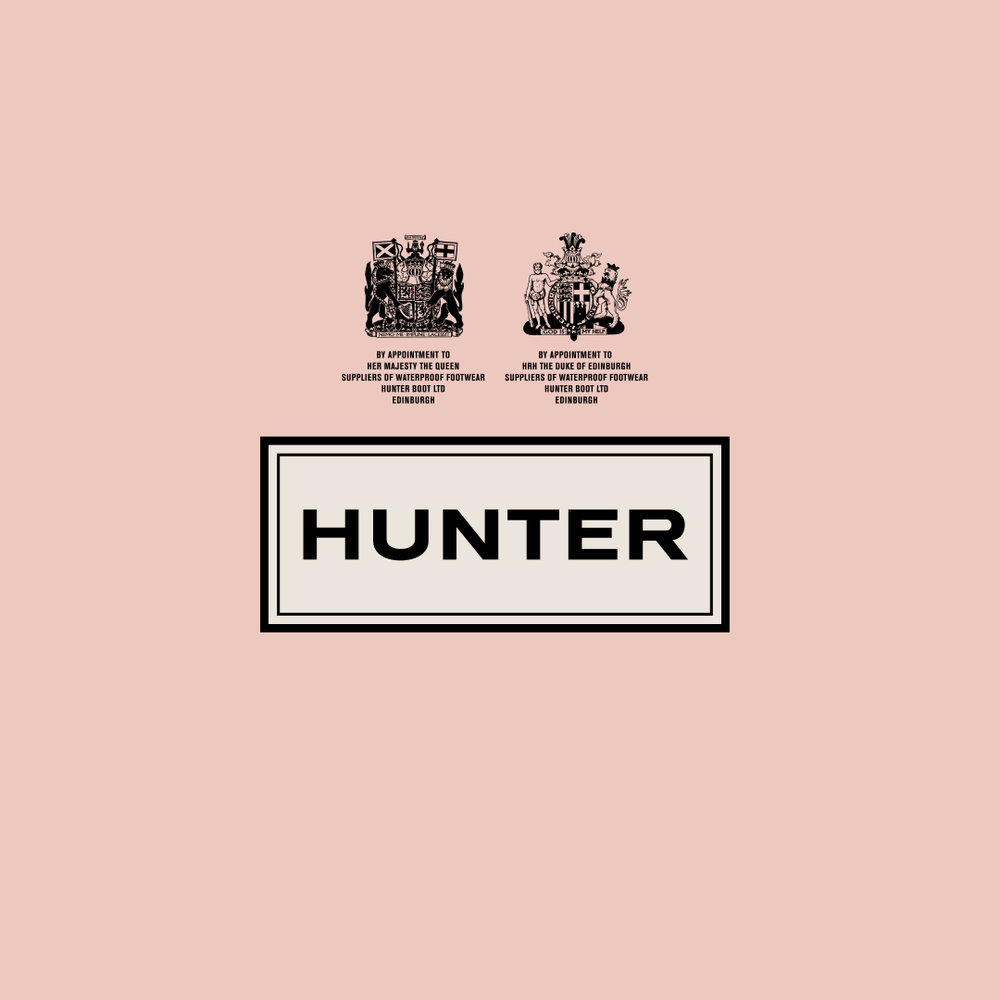 Hunter Boots instore and online animation