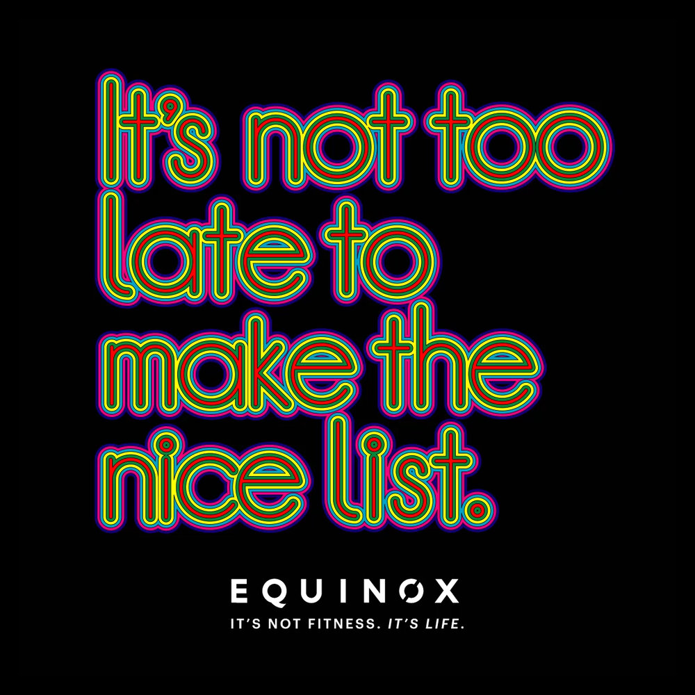 Equinox Gym animated quote