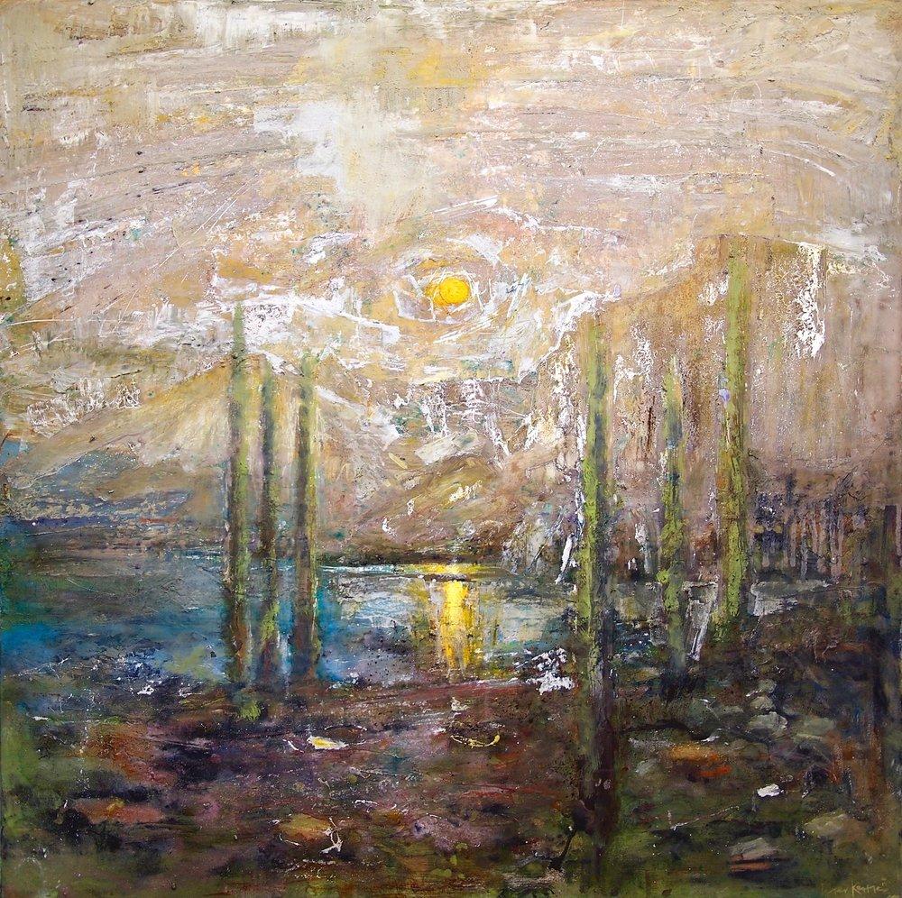 Los Alceres - Patagonia 100 x 100 cm