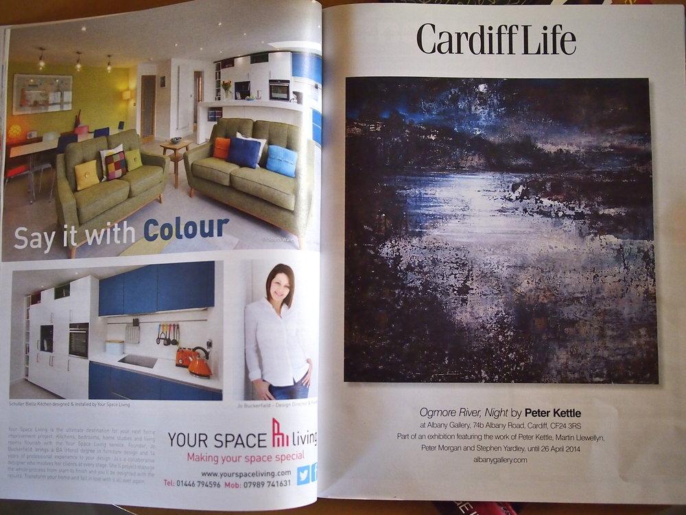 April 2014 edition of Cardiff Life Magazine