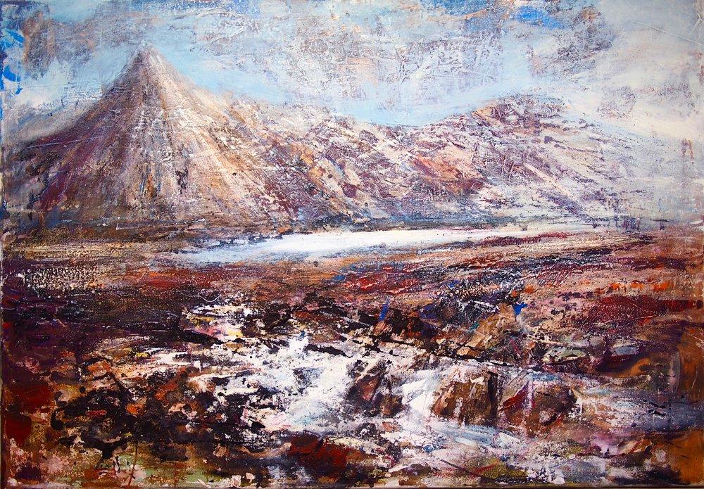 Tryfan, Snowdonia - 100 x 70 cm