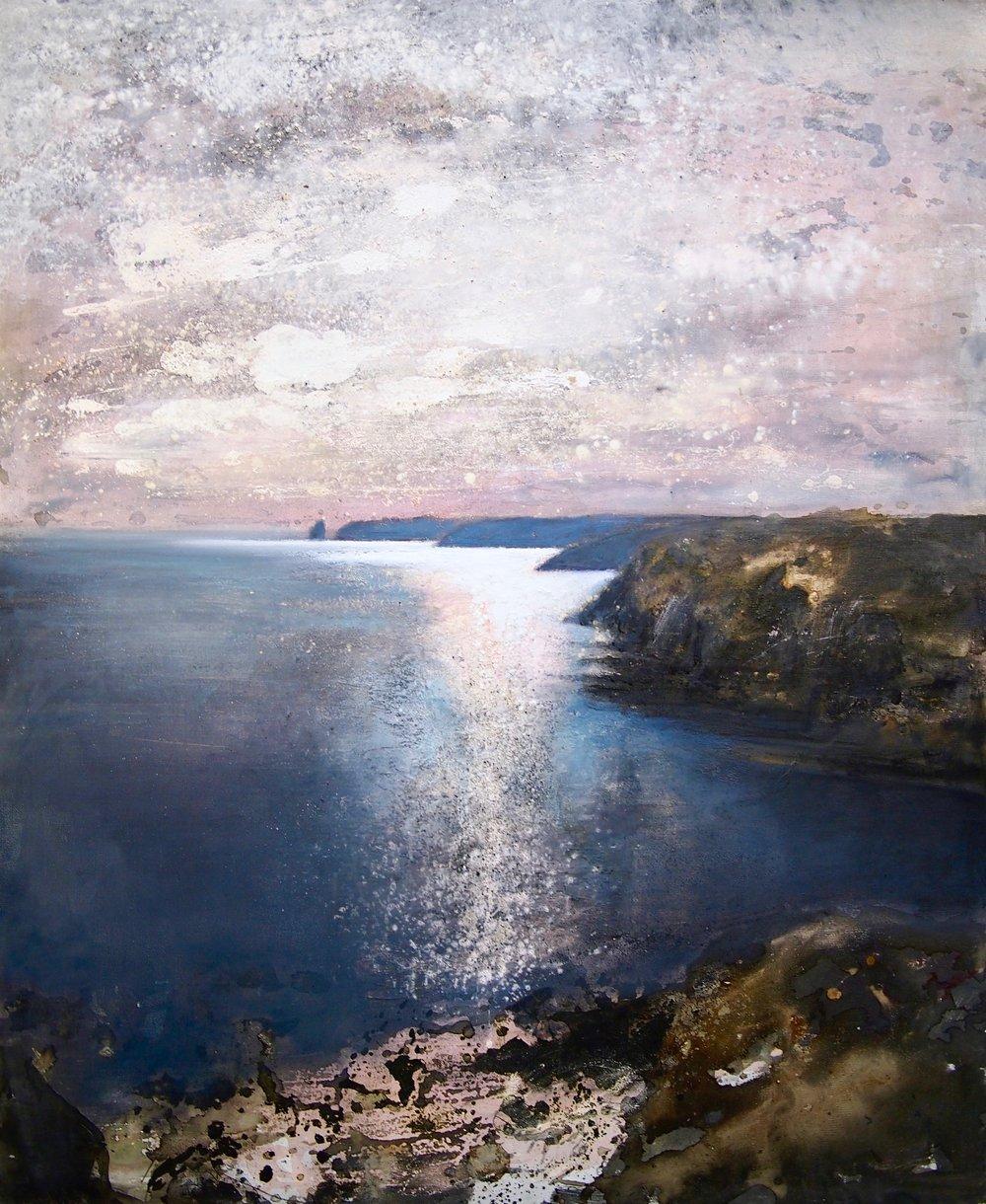Skomer Island - 90 x 110 cm