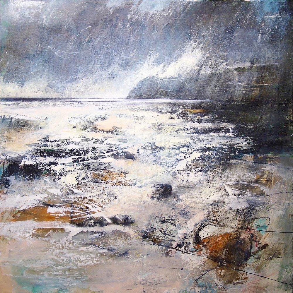 Pembrokeshire Coast 100 x 100 cm