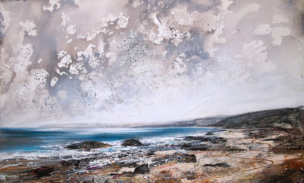 Little Haven, Pembrokeshire 100 x 65 cm (Prints Available)