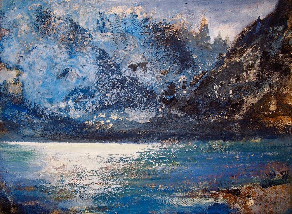 Cerro Torre - Patagonia 35 x 30 cm