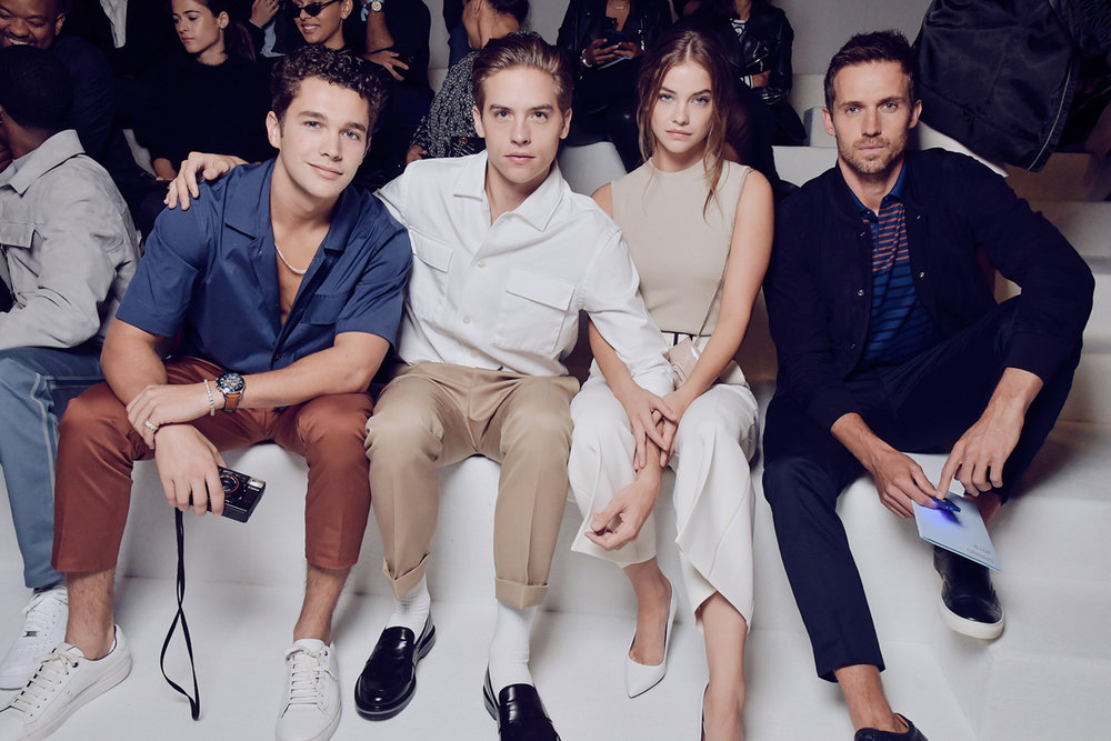 Austin Mahone, Dylan Sprouse, Barbara Palvin, and Andrew Cooper