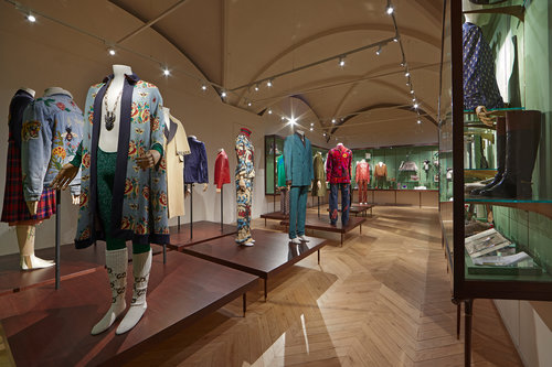 92938247d27 Gucci Garden was conceived by Gucci Creative Director Alessandro Michele  and features exhibition spaces curated by critic and curator Maria Luisa  Frisa.