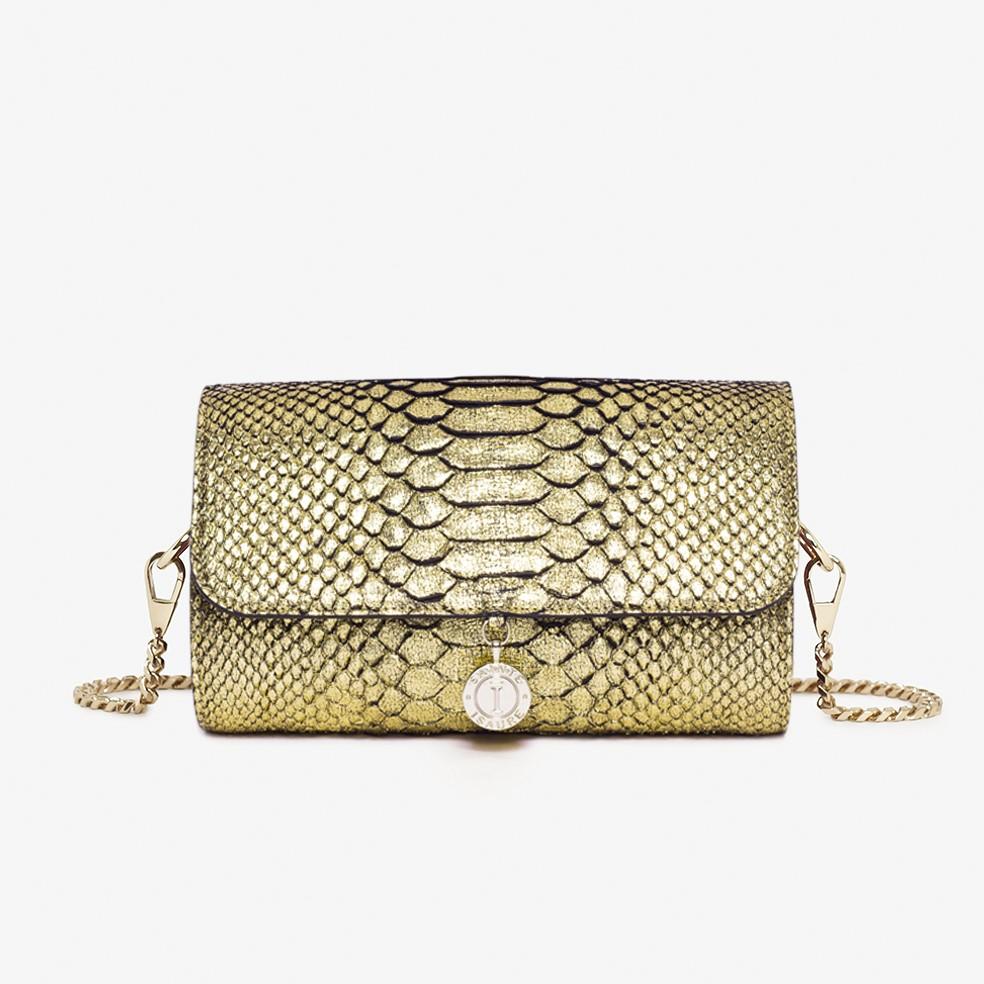 RENÉE PYTHON GOLD - 650,00€