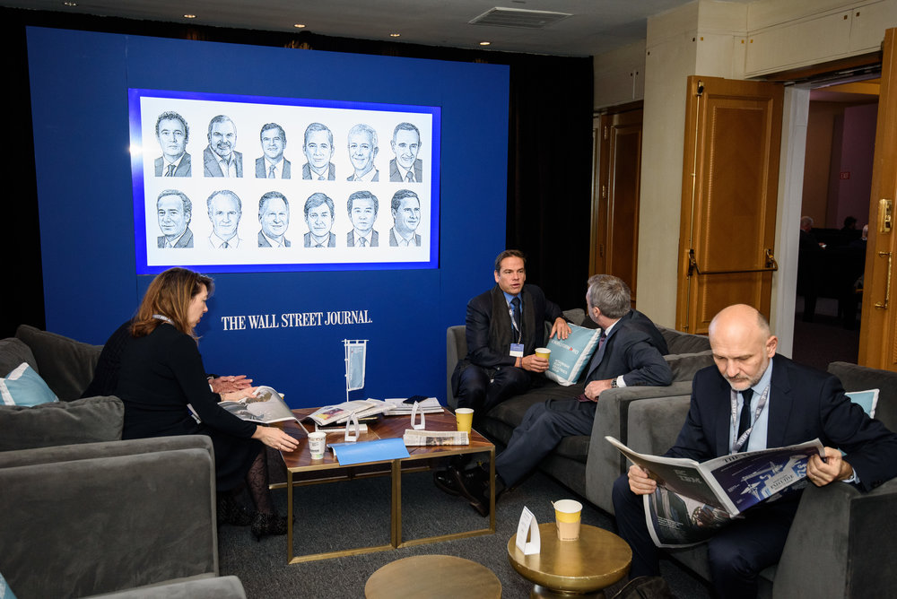 Wall Street Journal CEO Council in Washington, DC on December 4th, 2018. (Photo by Sam Kittner for The Wall Street Journal)