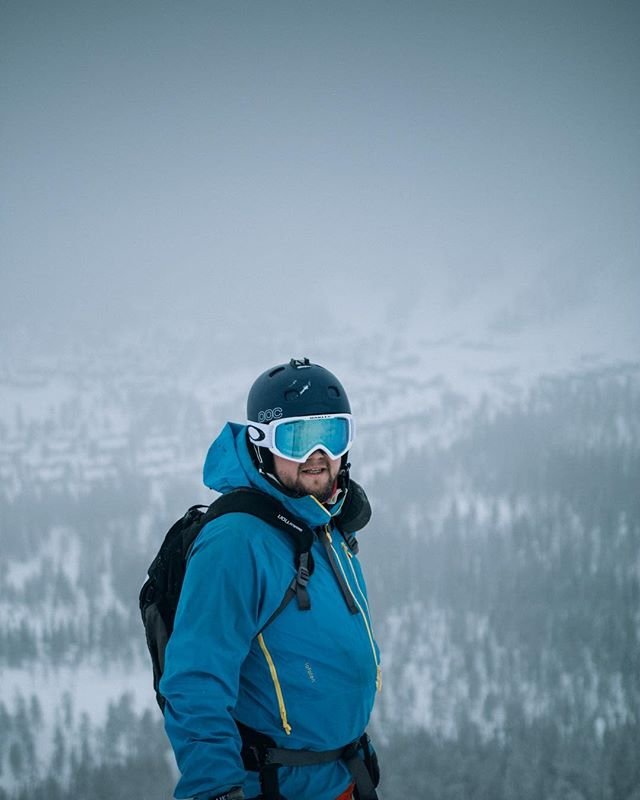 Searching for powder!