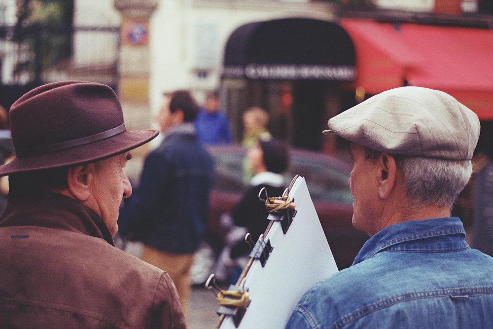 Painters, Montmartre