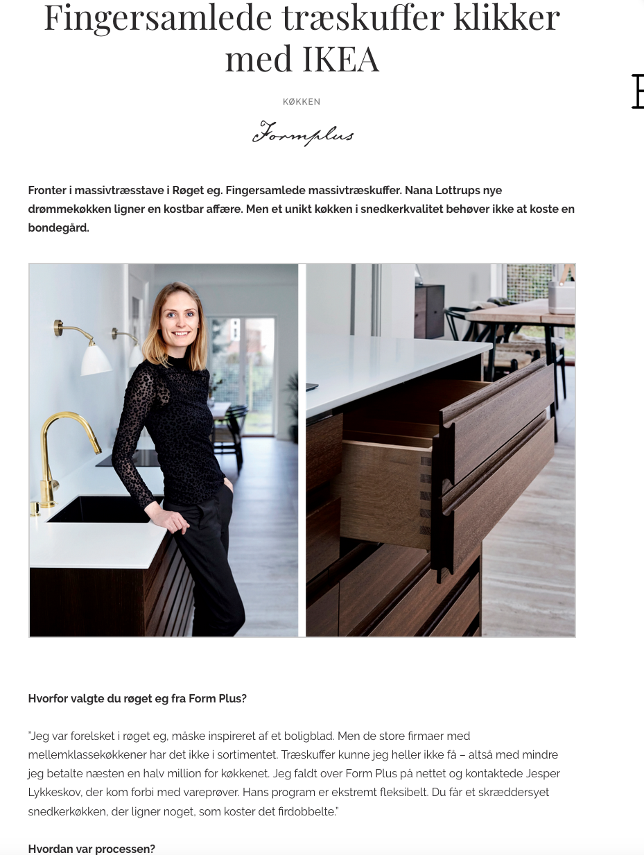 Advertorial boligmagasin