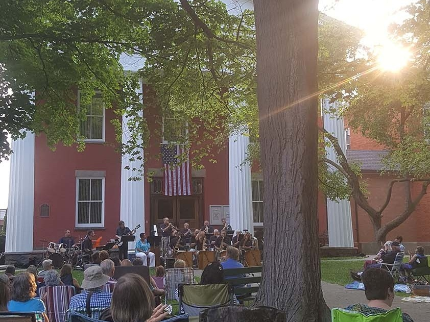 music in the park - Penn Yan, new york     Photo COURTESY of the Yates County chamber of commerce