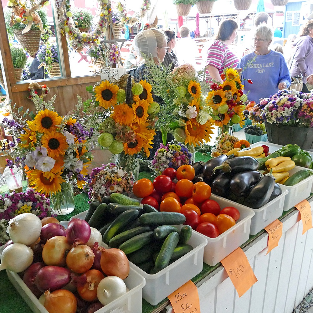 The Windmill Farm & Craft market - Penn yan, new york     Photo COURTESY of the Yates County chamber of commerce