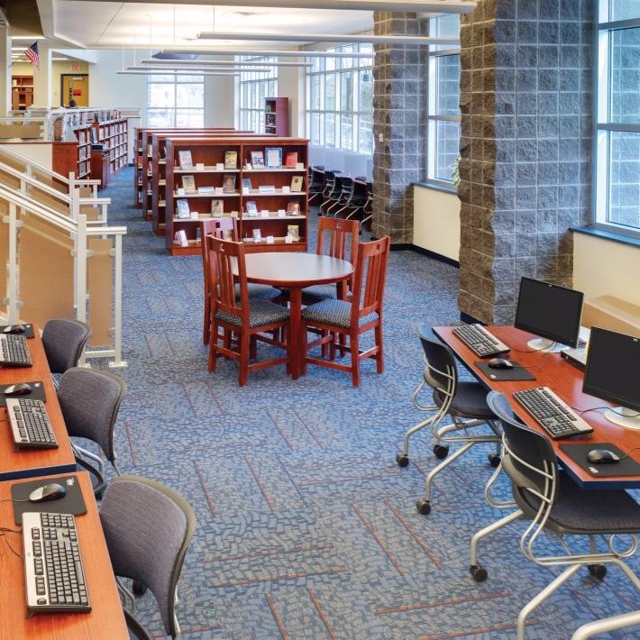 public library - Penn Yan, New York