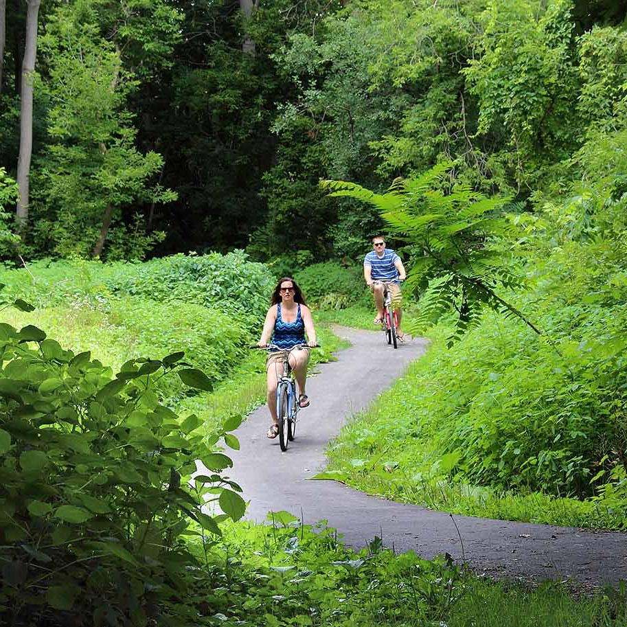 Keuka outlet trail - dresden, New York     Photo COURTESY of the Yates County chamber of commerce