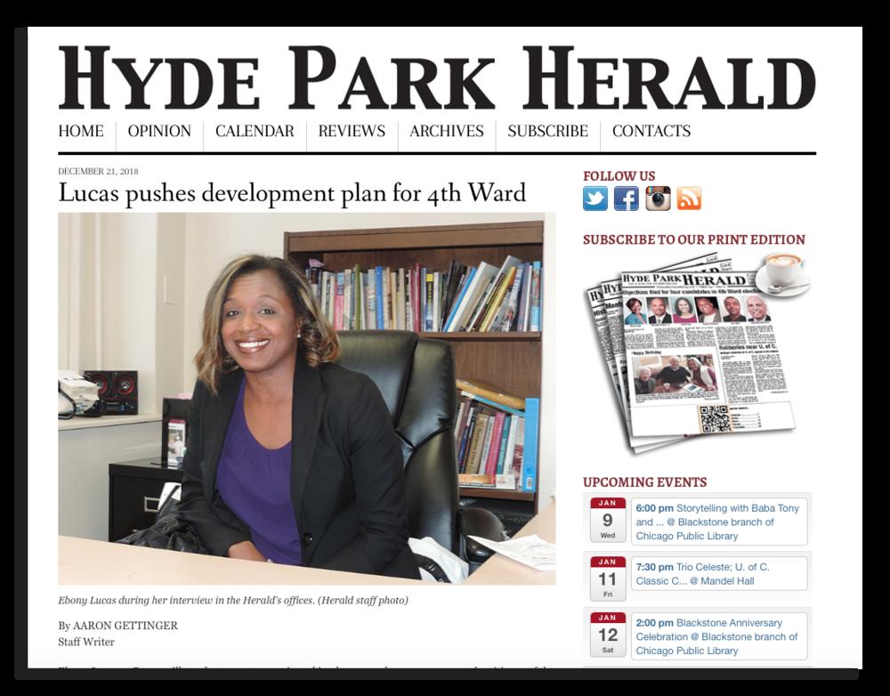 Ebony Lucas in Hyde Park Herald.png