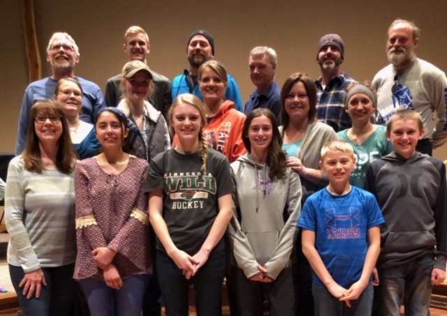 Team members from Hope Church & Resurrection Church (Beltrami)