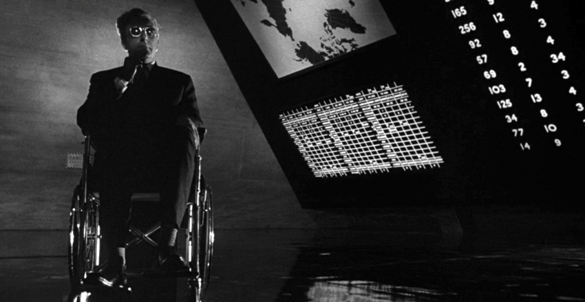 Dr. Strangelove or: How I Learned to Stop Worrying and Love the Bomb  ( 1964 )