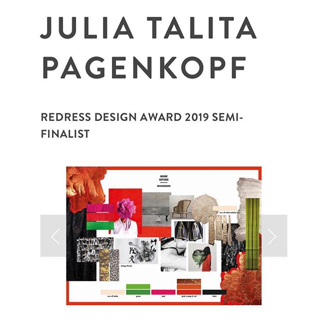 We are super happy to announce that INSIDE/OUTSIDE Studio's new radically sustainable fashion concept by our co-founder and designer Julia made it into the semi-finals of the Redress Design Award 2019 by @getredressed 💥 |/|| This is the mood board. It's all about fierce women showing their strength without hiding their vulnerability. We tried to capture that mood within the collection by de- and reconstructing secondhand garments and combining a variety of strong colours, floral prints and textures within one garment asymmetrically. Showing different perspectives and details from every angle. Just like we all have strong and weak parts about us. Let's show our true colours. #🌈 |/|| You can check out the sustainable concept – for which we only used post-consumer textile waste and vintage – online and vote on your favorite designs for the people's choice award. |/|| Find the link in our bio and stay tuned for our next posts for more details on the collection concept.🖖 |/|| #redressdesignaward #getredressed #radicallysustainable #insideoutsidestudio #sustainablefashion #upcyclingfashion  #redesignfashion #circularfashion #madeinberlin #emergingfashiondesigner #zerowastefashion #extendingtheloop #slowfashion #fashionrevolutionweek2019 #fashrev