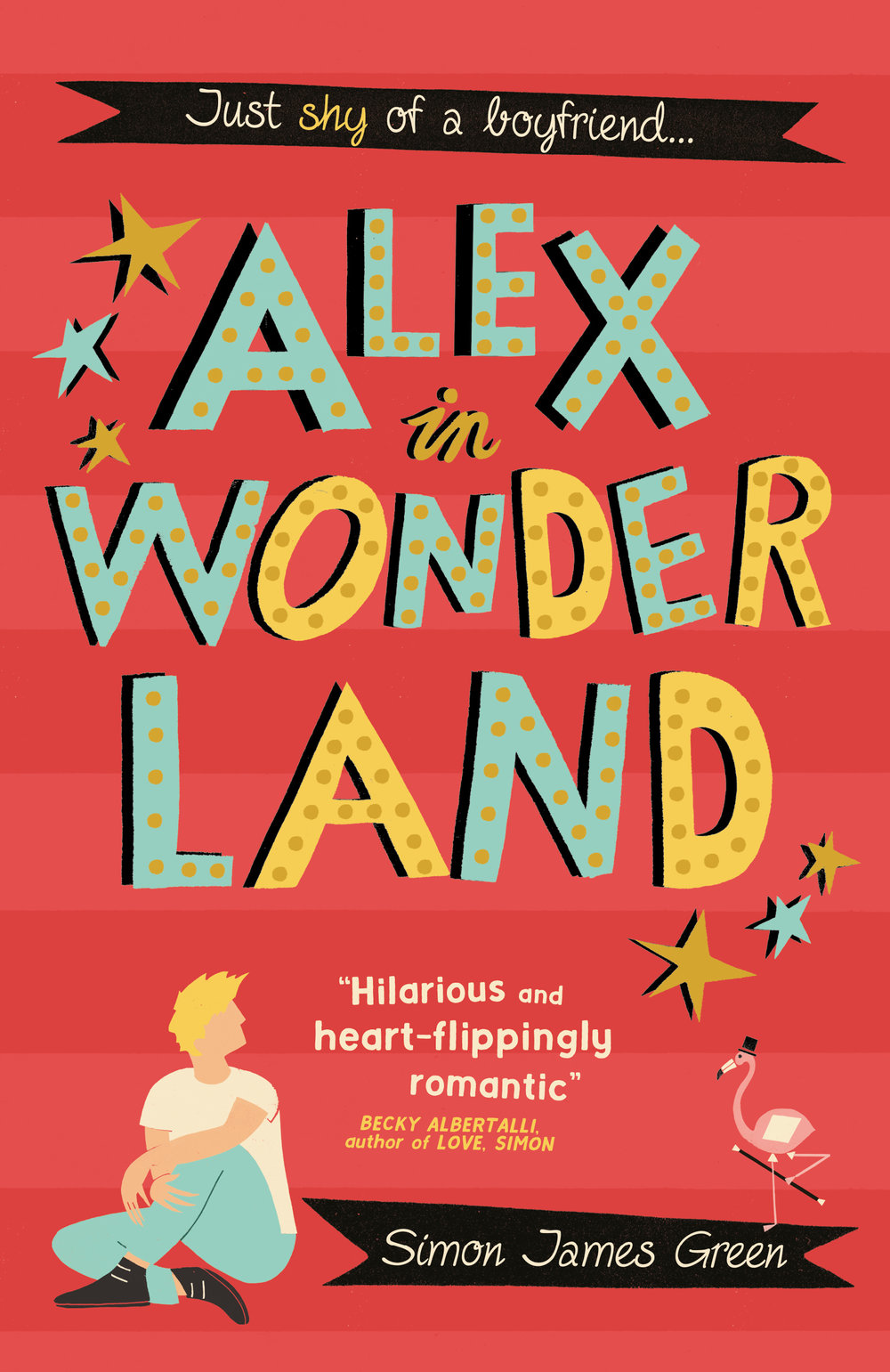 A NOVEL THAT WILL HAVE YOU LAUGHING OUT LOUD ONE MINUTE, AND SWOONING THE NEXT! - In the town of Newsands, painfully shy Alex is abandoned by his two best friends for the summer. But he unexpectedly lands a part-time job at Wonderland, a run-down amusement arcade on the seafront, where he gets to know the other teen misfits who work there. Alex starts to come out of his shell, and even starts to develop feelings for co-worker Ben... who, as Alex's bad luck would have it, has a girlfriend.Then as debtors close in on Wonderland and mysterious, threatening notes start to appear, Alex and his new friends take it on themselves to save their declining employer. But, like everything in Wonderland, nothing is quite what it seems...