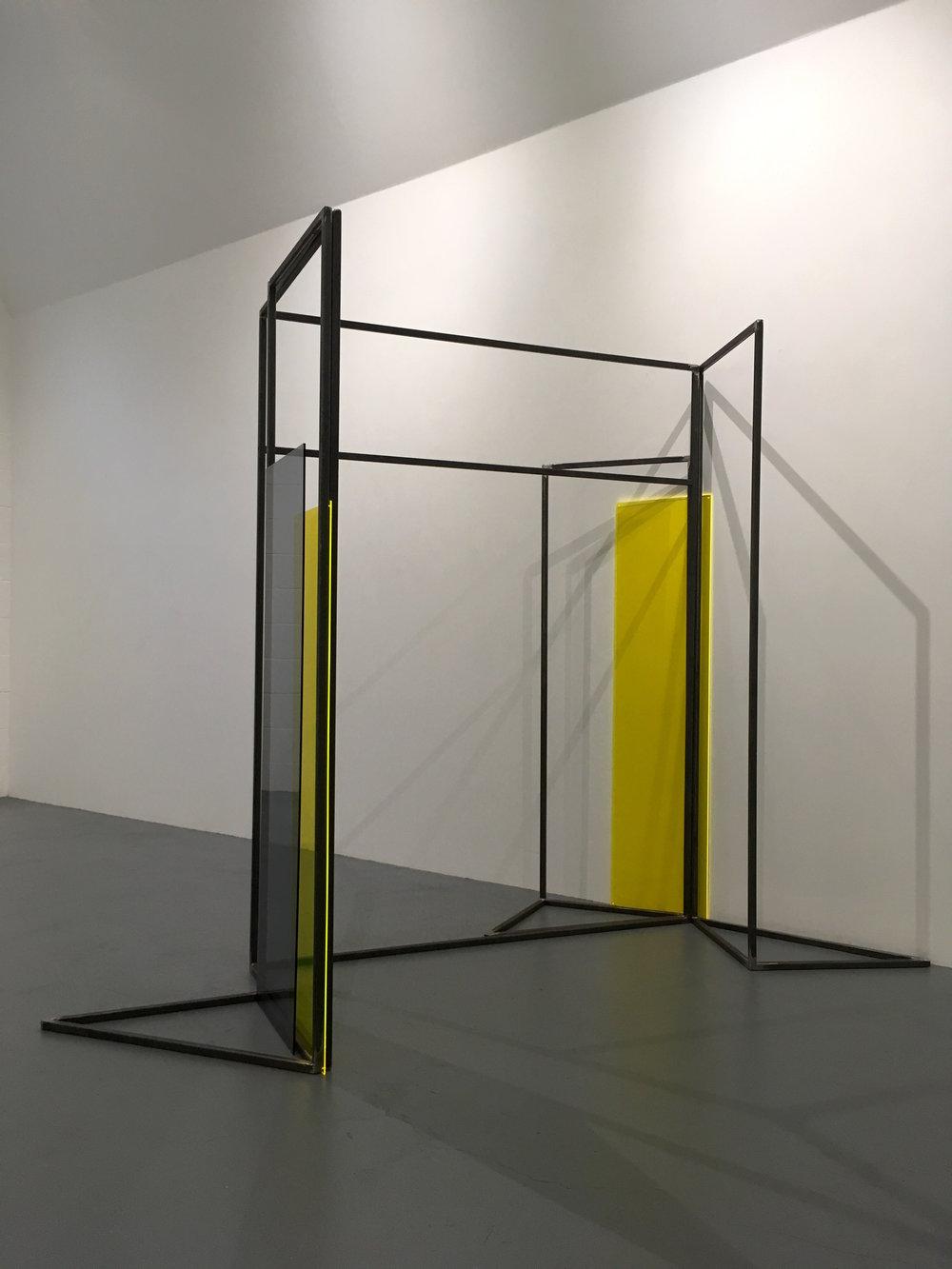 Rosalind Davis.Haus Konstructiv. No format Gallery. Steel & Perspex. Dimensions variable.III.jpg