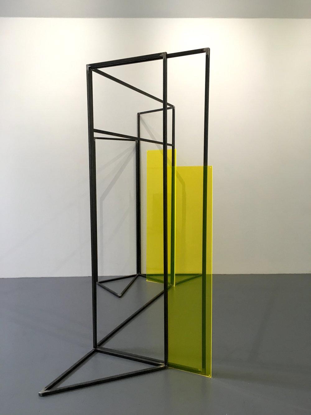 Rosalind Davis.Haus Konstructiv. No format Gallery. Steel & Perspex. Dimensions variable.VII.jpg
