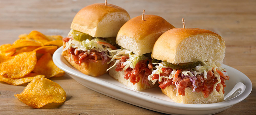 BBQ Pork Party Sliders