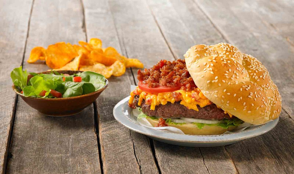Featuring - Sesame Twist Hamburger Rolls