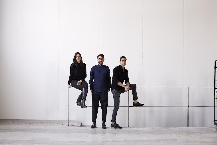 Carina Soto Velasquez, Adam Tsou et Joshua Fontaine de Quixotic Project