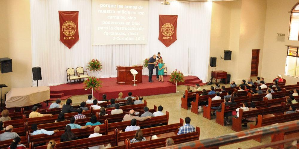 Bolivian Apostolic Coalition Meeting