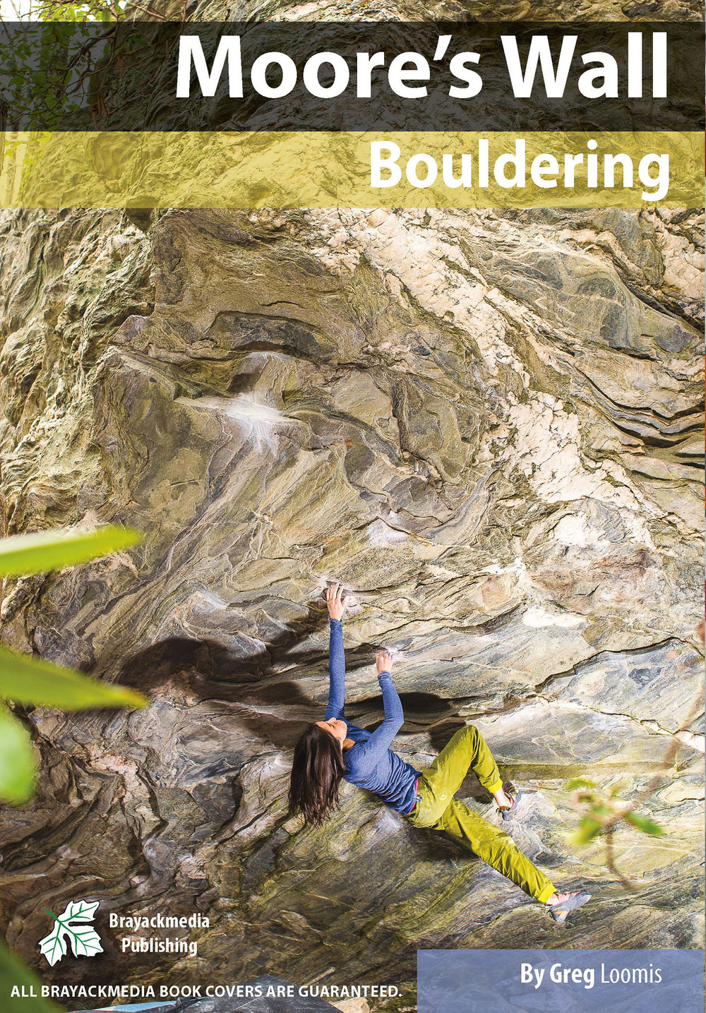 Moore's wall BoulderinG Guidebook - Near Winston-Salem, North Carolina, Moores Wall is an excellent winter bouldering destination with tons of great boulder on unique rock.This guidebook covers 539 Problems in 280 pages. The book includes High Quality Maps, Topo Images and Action Images.