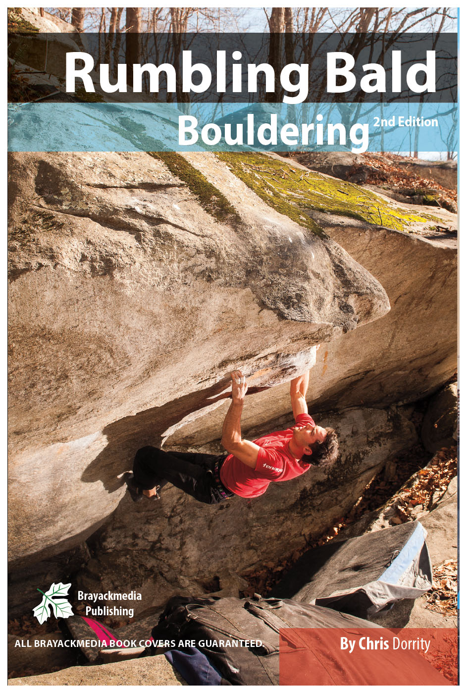 Rumbling Bald Bouldering Guidebook - Near Asheville, North Carolina, Rumbling Bald is an incredible, huge, south facing destination winter crag.This book covers 1,486 problems in 576 pages. The book includes High Quality Maps, Topo Images and Action Images