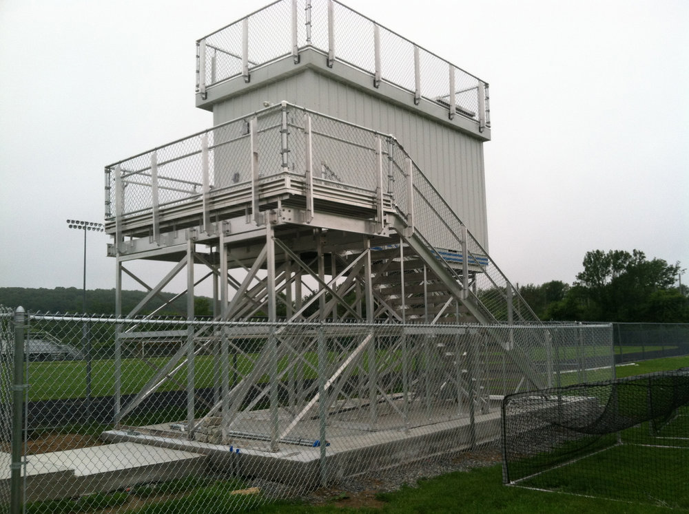 APB Elevated Press Box, Ipswitch, MA