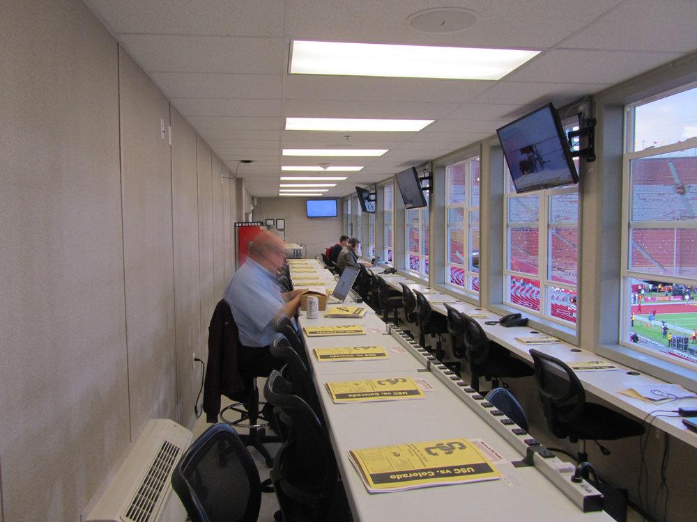 Media/Press Room, View 1