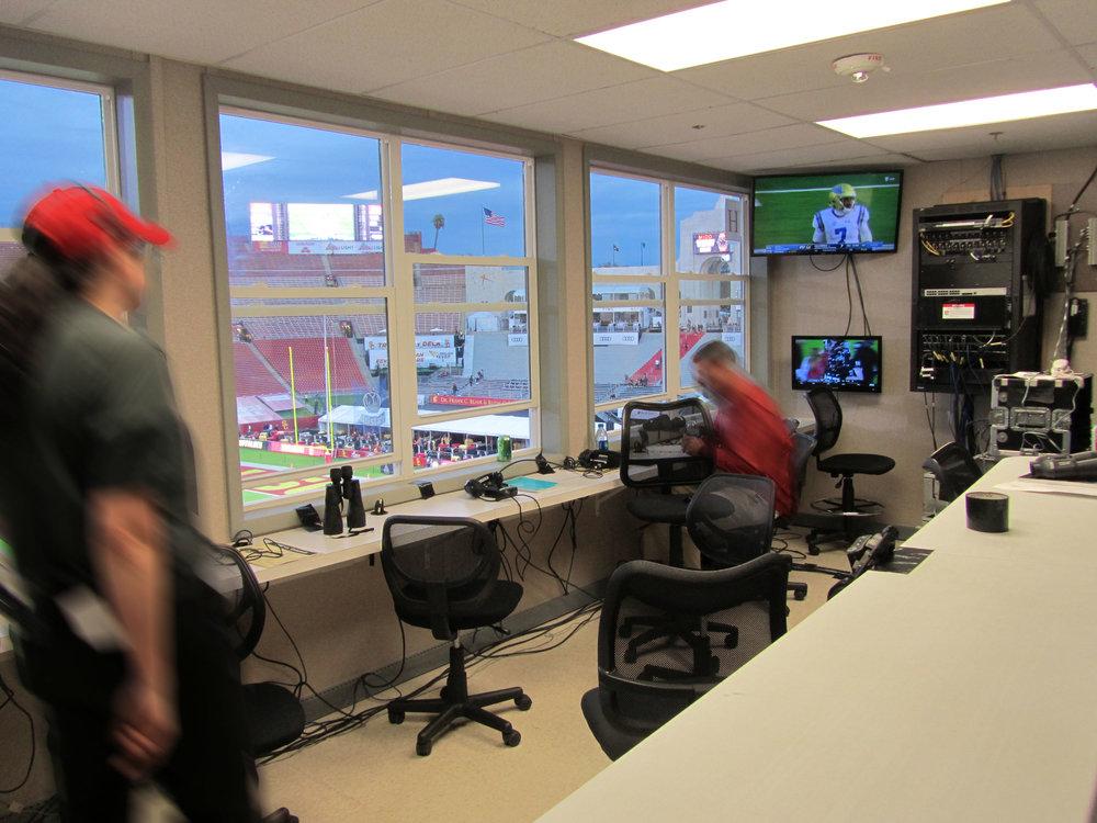 Media/Press Room, View 2