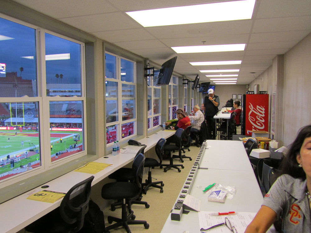Media/Press Room, View 4