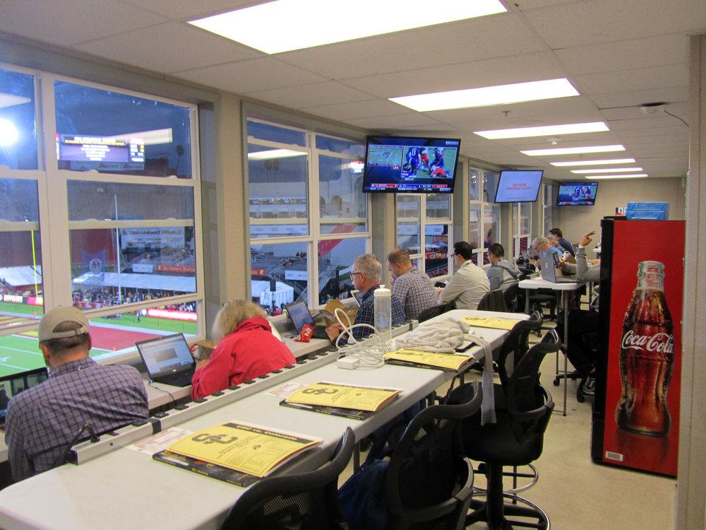 Media/Press Room, View 3