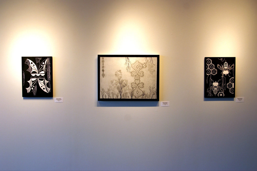 Kristin Gentry, Between the Lines, exhibited at the Individual Artists of Oklahoma gallery in Oklahoma City, OK. (click to see more work)