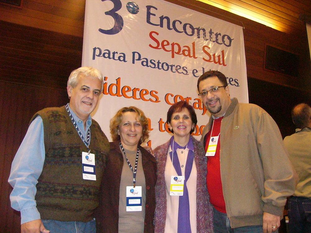 PR.OSVALDO PRADO, SIRLEI,EVALDO, NANA - SEPAL 2007.JPG