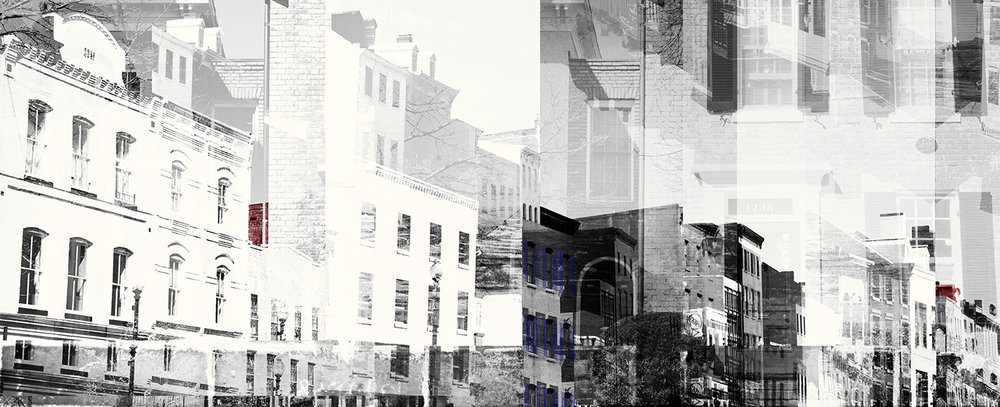 The original artwork in black and white for  WestEnd25 , in close collaboration with  Hartman Design Group .