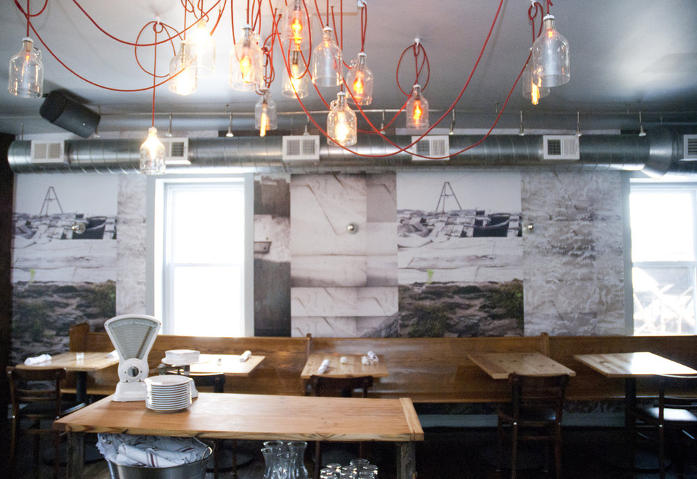 Custom photo-based wallpaper for Goat Hollow in Mt. Airy, Philadelphia. In collaboration with  Studio IQL  and  Metcalfe Architecture & Design .