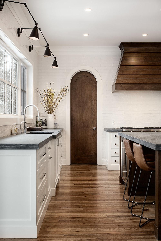 Custom-built Round-top Pantry entrance door