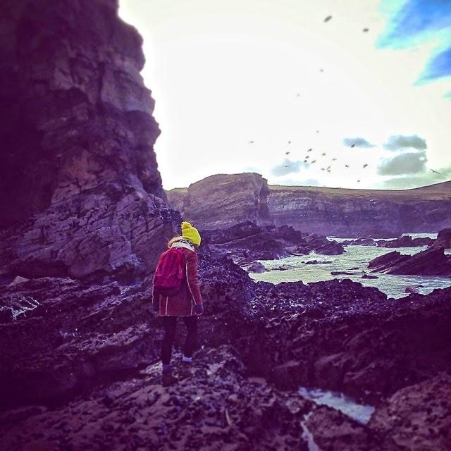 Blustery walks on the coast in Cornwall
