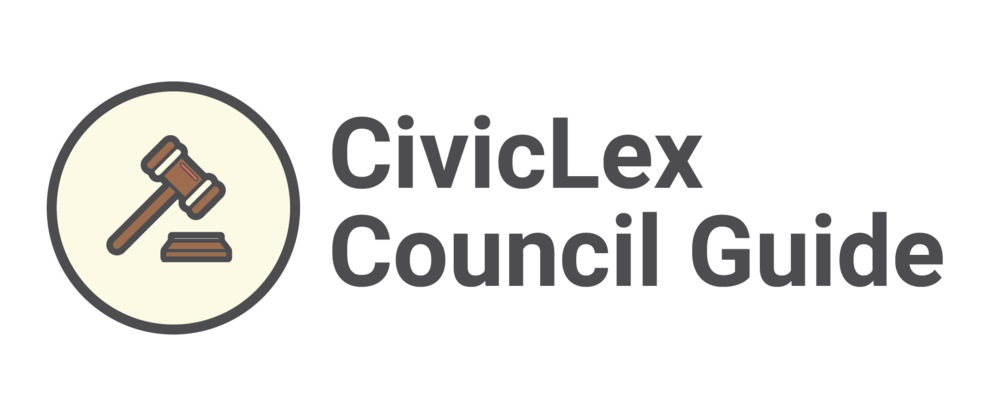 CivicLex Council Guide