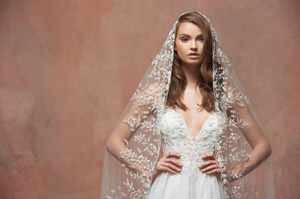 Finish your look with Blossom - Join us for an exclusive trunk show with Blossom Veils and Accessories! Find the perfect pieces to complement your perfect gown!