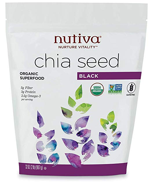 Chia seeds Benefits - They are high in fiber, protein, and omega-3 fatty acids.A one-ounce (28 grams) serving of chia seeds contains:Fiber: 11 grams.Protein: 4 grams.Fat: 9 grams (5 of which are omega-3s).Calcium: 18% of the RDI.Magnesium: 30% of the RDI.They also contain zinc, vitamin B3 (niacin), potassium, vitamin B1 (thiamine) and vitamin B2.
