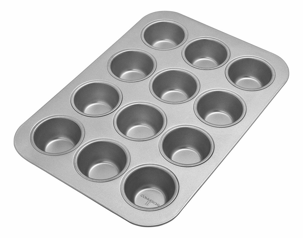 I have honestly looked everywhere for a completely stainless muffin tin and it does not exist. This is aluminized steel but uncoated. I make    muffins    in    this    weekly for the kids and according to    Dr. Weil    it's ok. But, to be extra safe, l always use these unbleached    baking cups   .