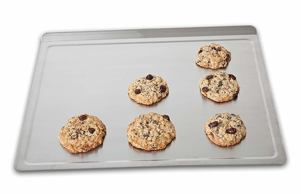 I make refined sugar free    cookies    all the time so I get a lot of use out of this    cookie sheet   .