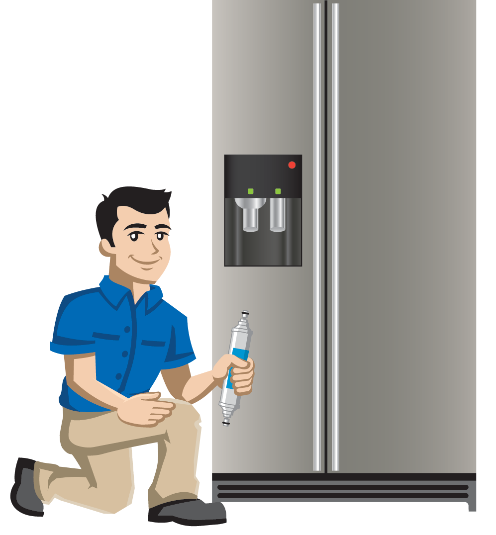 Refrigerator Filter Replacement -